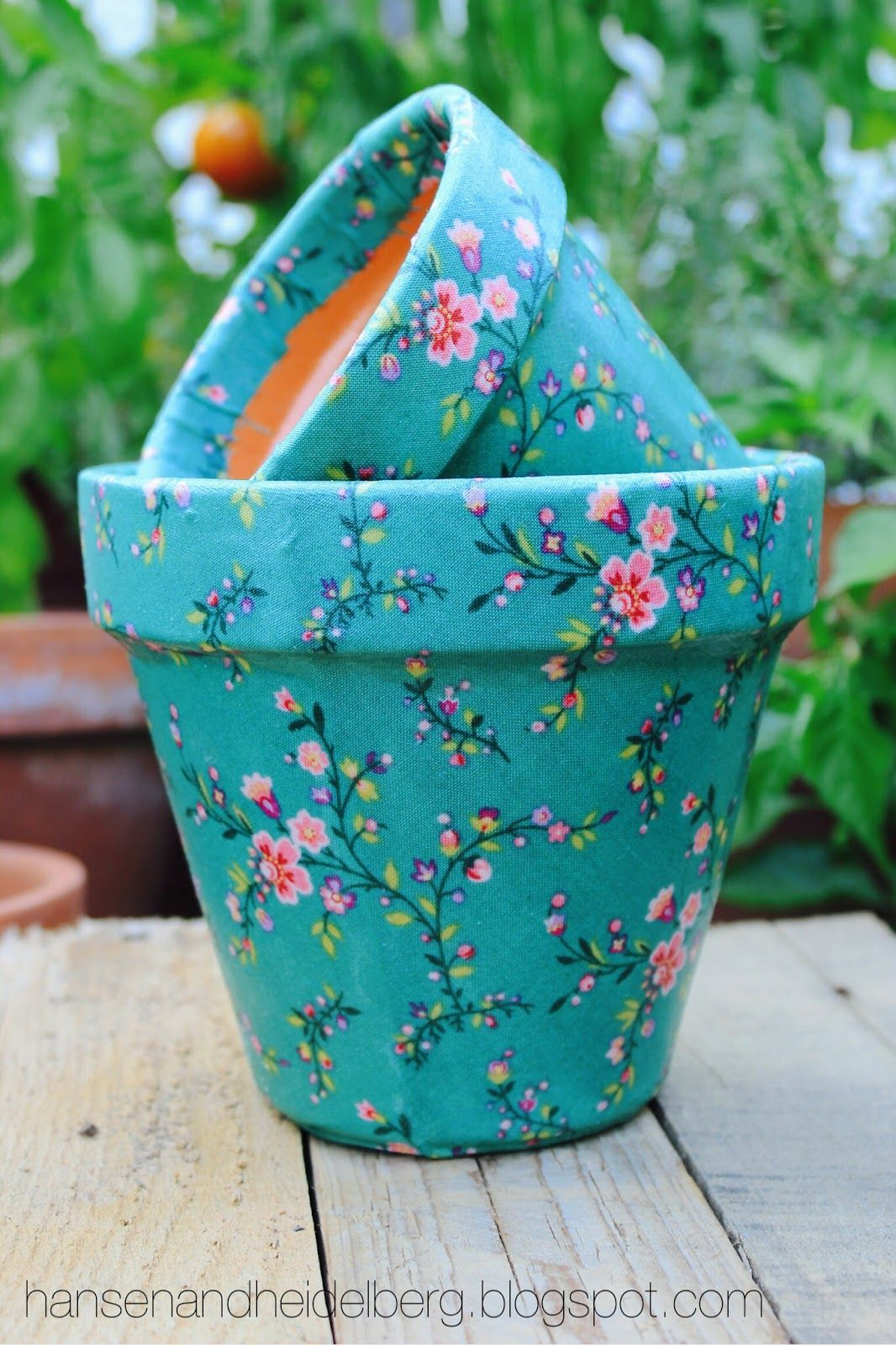 DIY: Fabric Pots