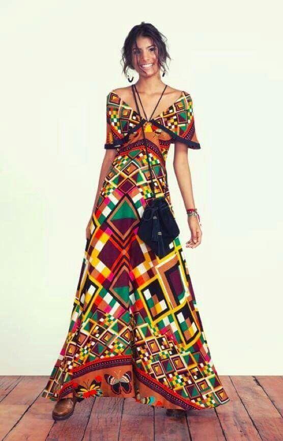 Boho Ibiza Style Dress | Kleidung, Sommer kleider, Kleider