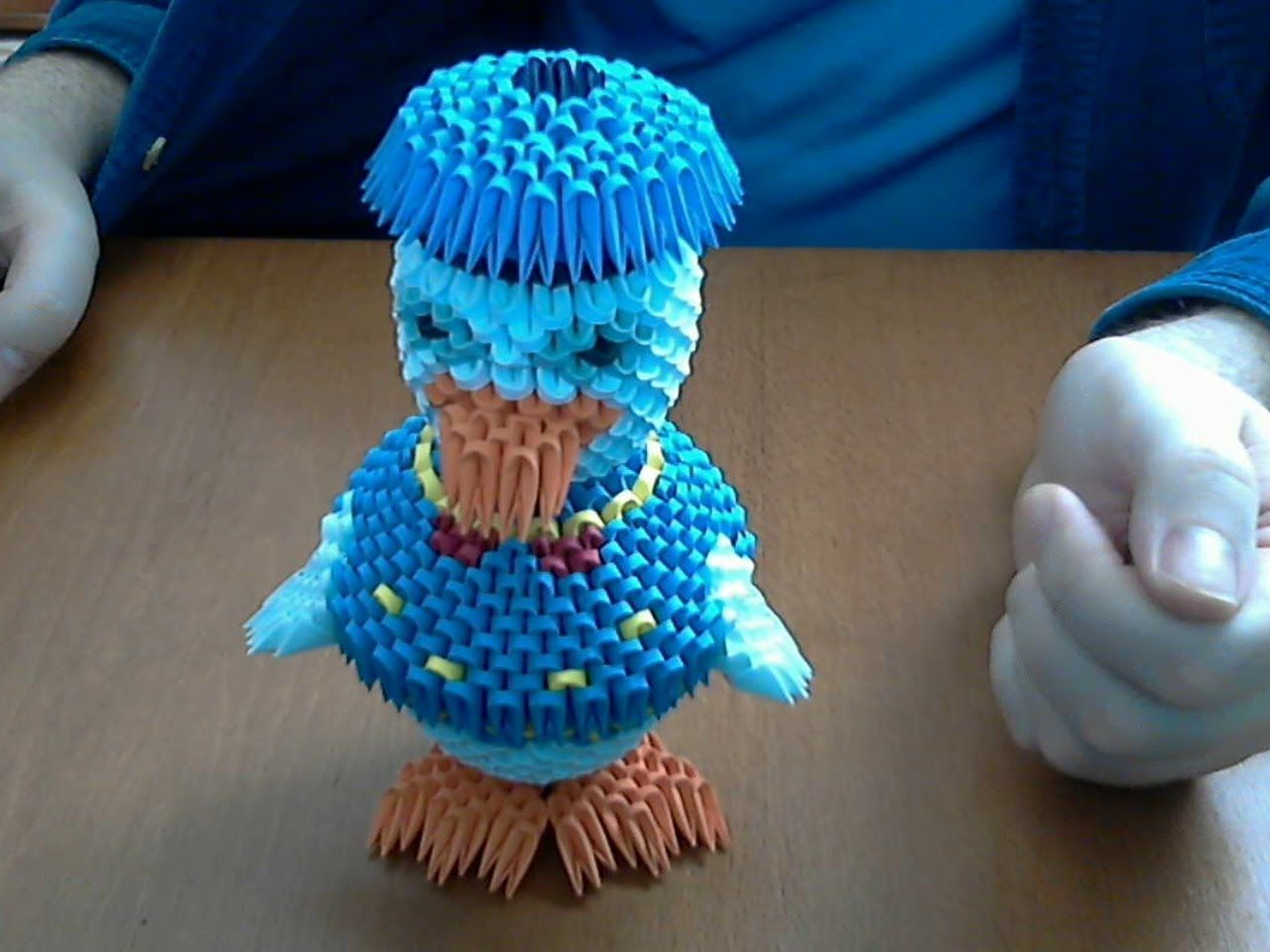 How to make 3d origami donald duck part 2 origami pinterest how to make 3d origami donald duck part 2 jeuxipadfo Images