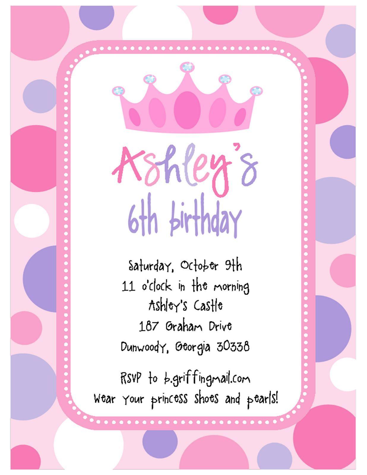Happy Birthday Invitation Cards : Happy Birthday Invitation Card In ...
