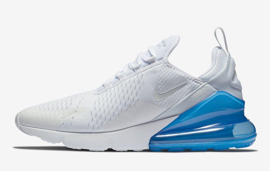 Nike Air Max 270 White Photo Blue AH8050 105 | Shoes | Nike