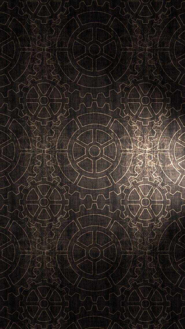 Gears pattern background iPhone 5s Wallpaper | iPhone 5~SE Wallpapers | Hátterek