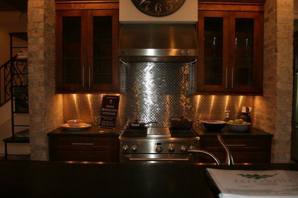 metal kitchen backsplashes   Beautiful Kitchen Decoration ...