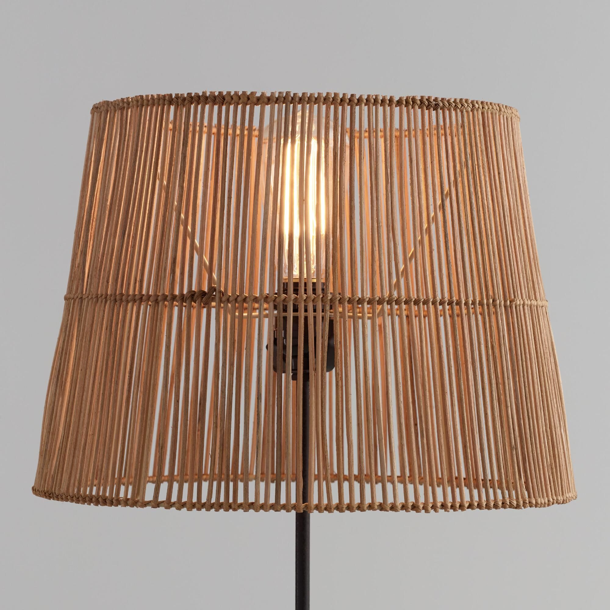 Natural Rattan Table Lamp Shade By World Market