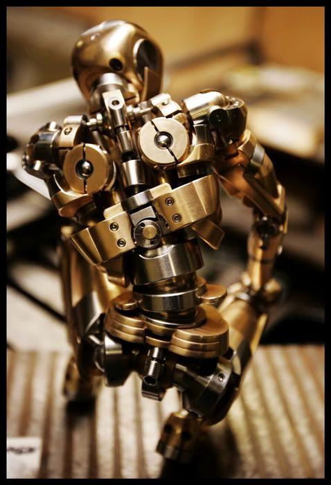 cnc machined robot