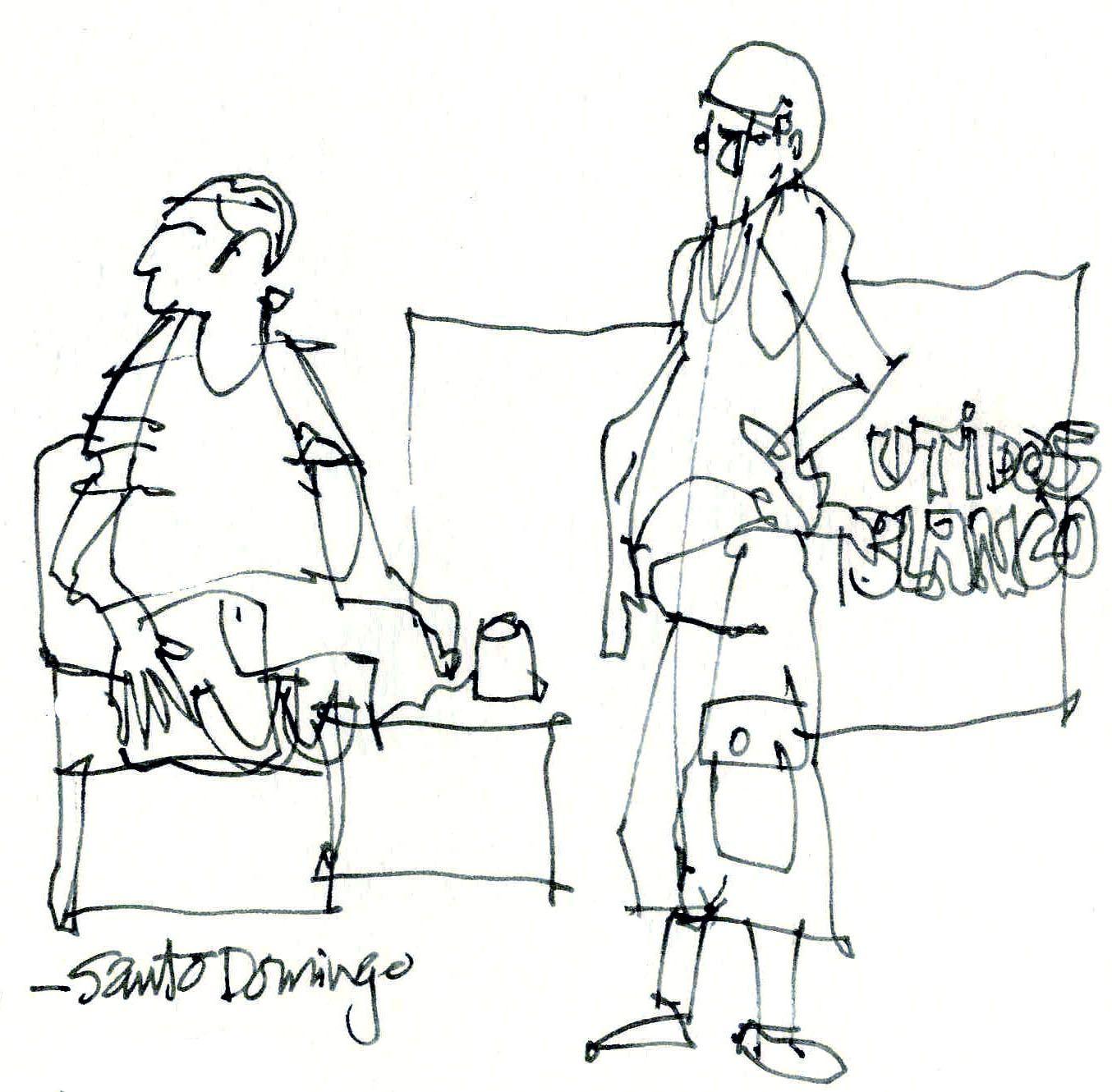James Richards Sketchbook