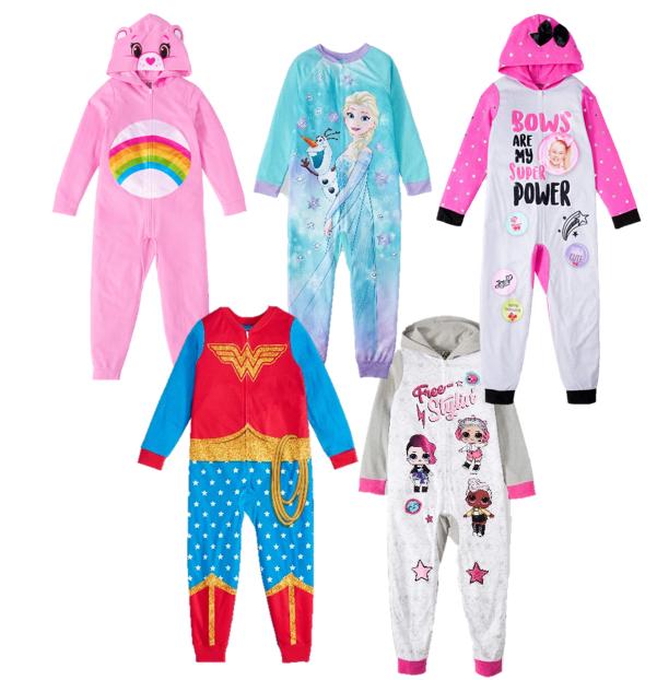 My Little Pony Little and Big Girls Blanket Sleeper Pajama