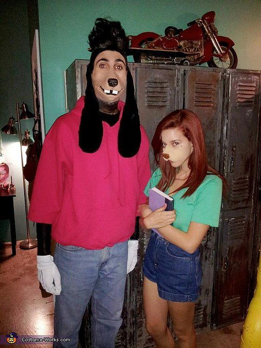 Max and Roxanne From A Goofy Movie Couple costume ideas, Costumes - halloween costumes ideas couples