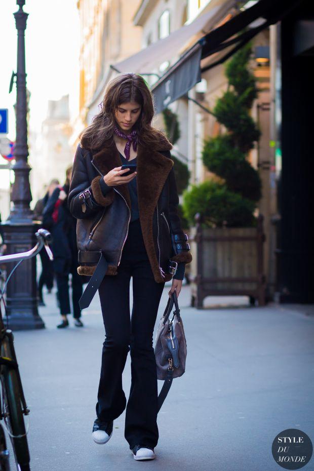 Antonina Petkovic Street Style Street Fashion Streetsnaps by STYLEDUMONDE Street…