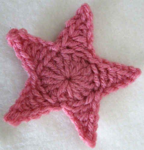 Best Free Crochet Free Crochet Pattern Medium Star 9 Craft