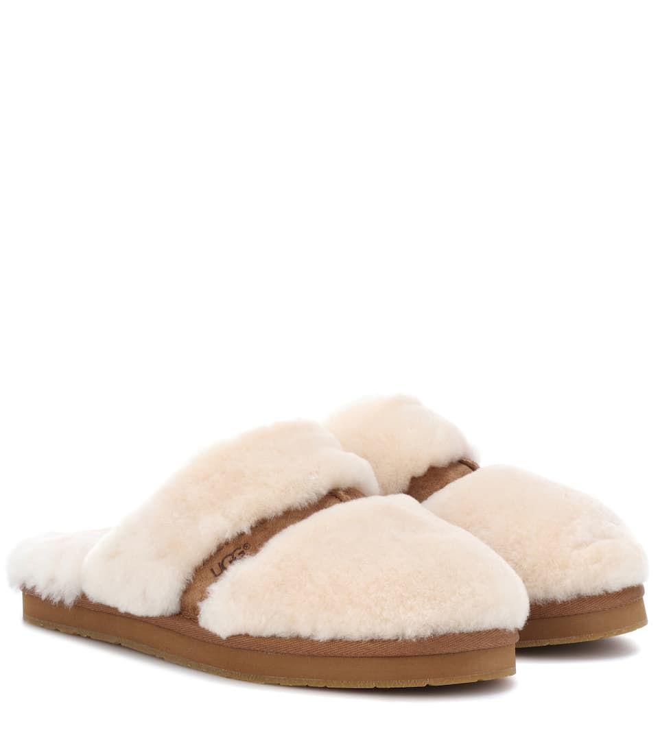 d3aca1b74e9 UGG Dalla shearling slippers | Boot & Scuff | Shearling slippers ...