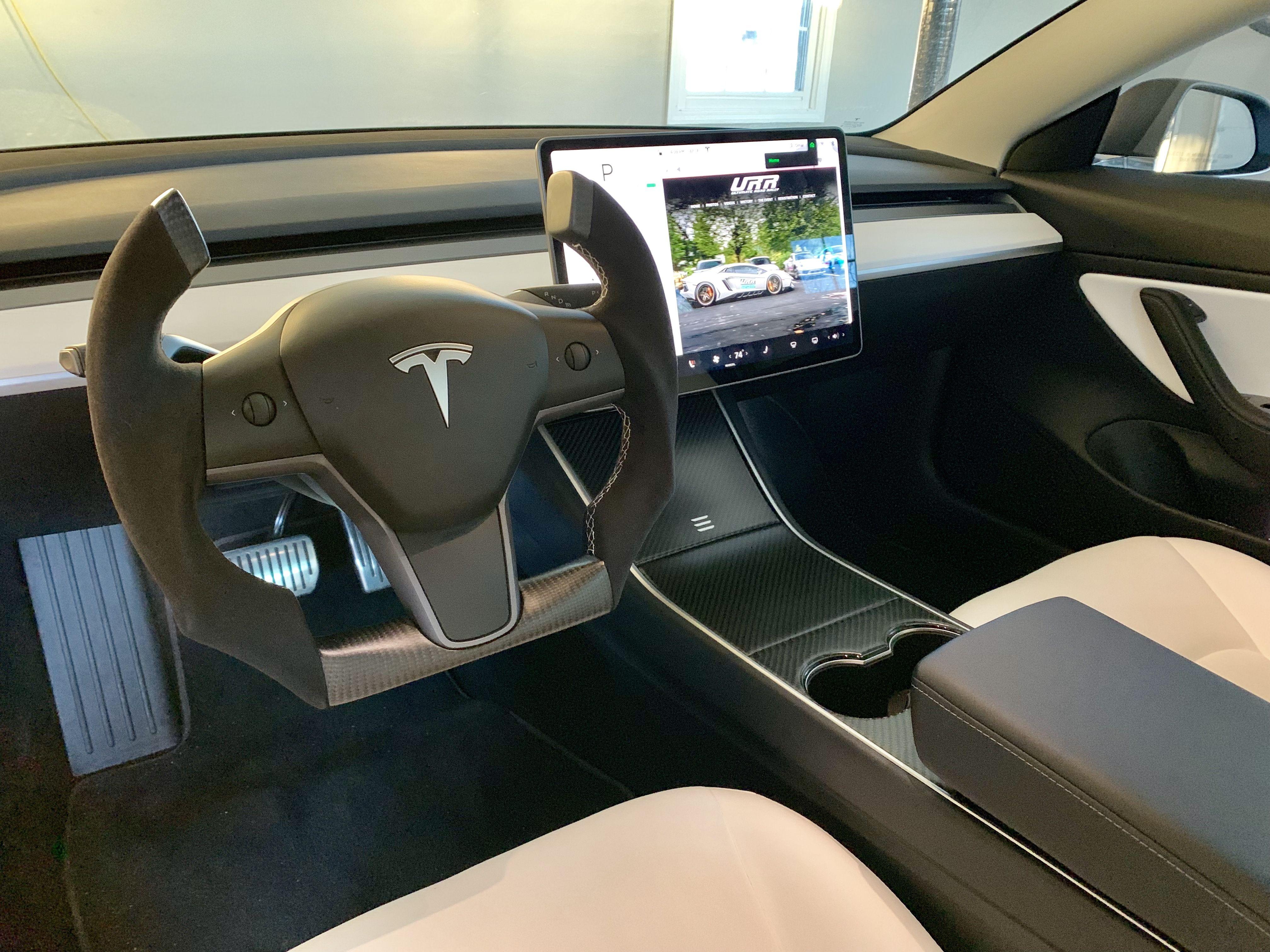 Tesla Model 3 Interior Tesla Accessories Luxury Car Interior Tesla Car