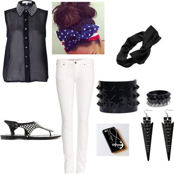 """""""studs"""" by riet-david on Polyvore"""