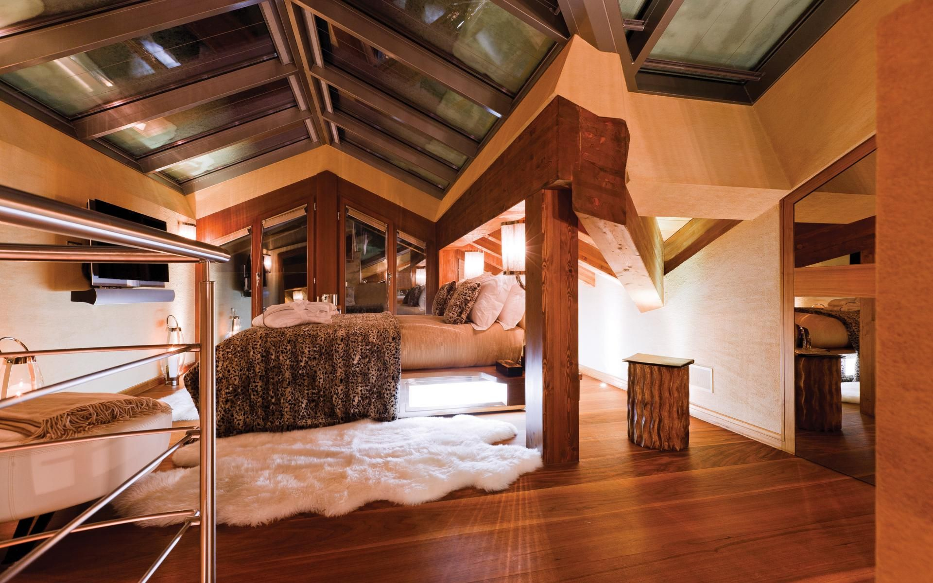 Luxury Ski Chalet Zermatt Peak Switzerland Photo 555 Luxe Alpine Lodge Pinterest Gl Roof And