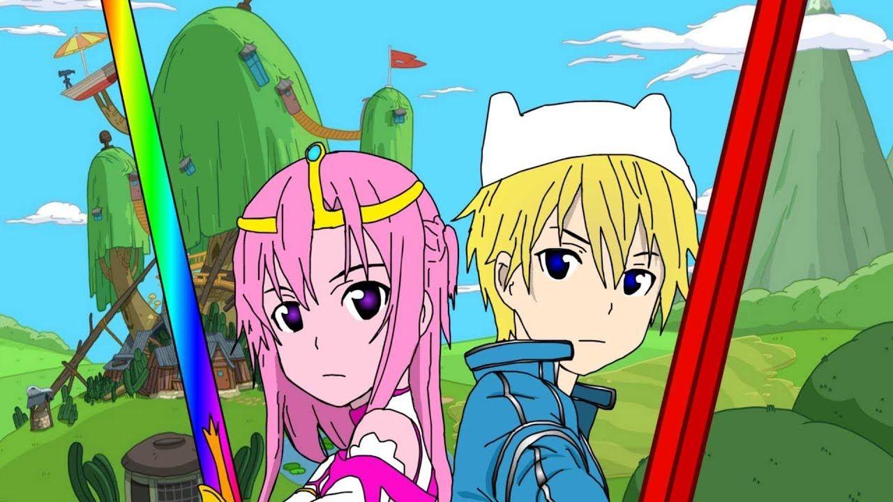 Adventure Time Anime Opening Paint Version Adventure