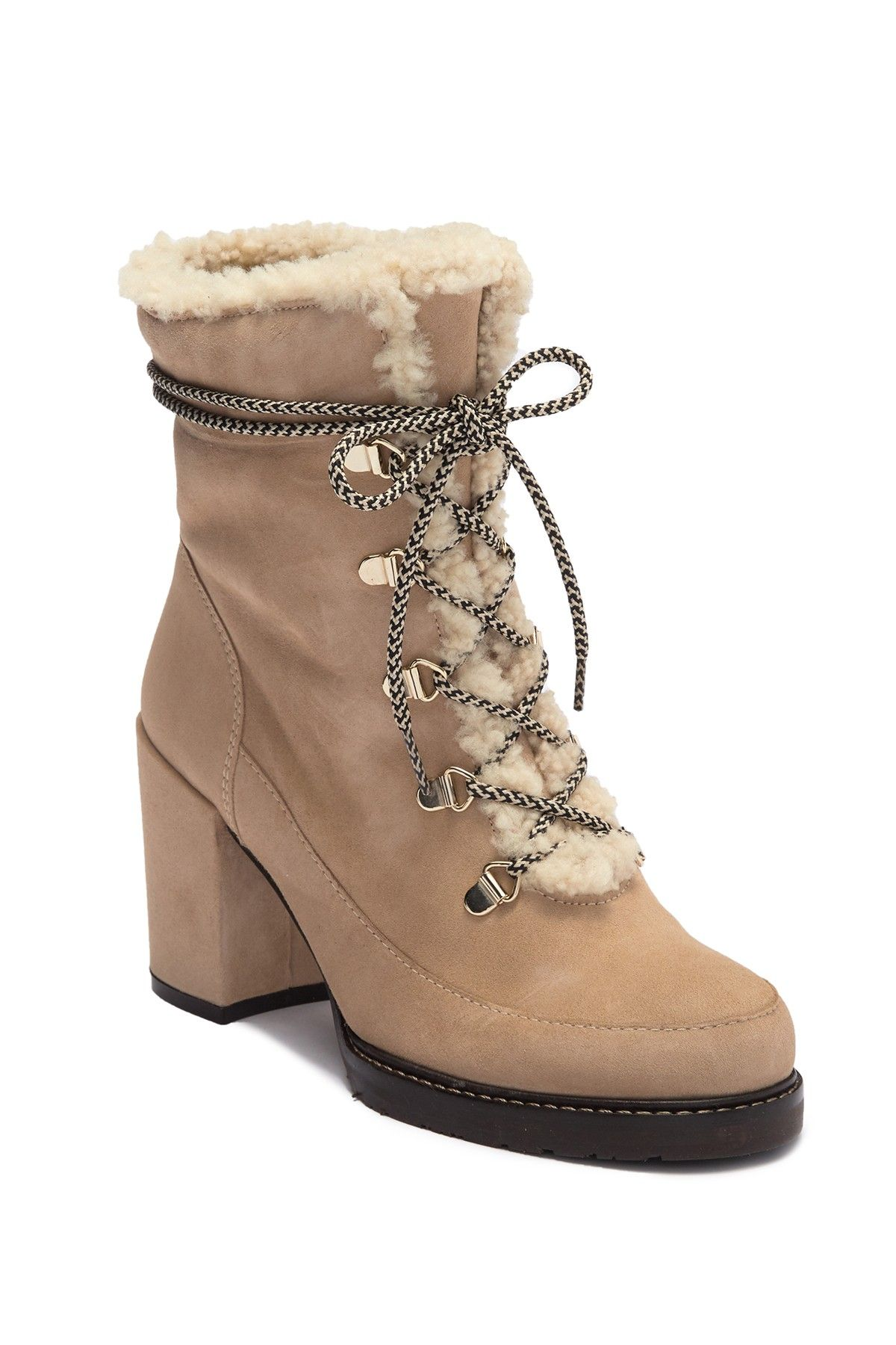 e58612daf90 Stuart Weitzman - Yukon Genuine Shearling Lined Hiker Boot is now 49 ...