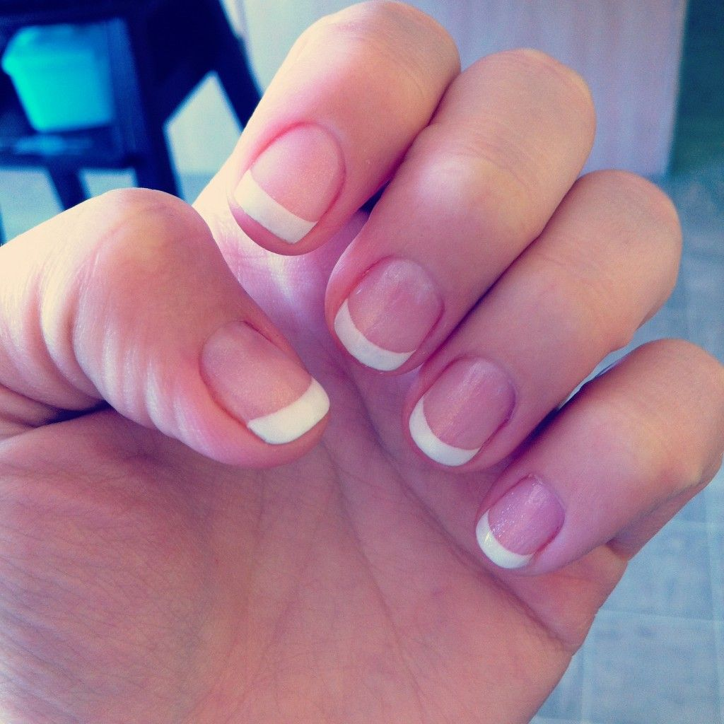 No Chip French Manicure | Amazing Nails | Pinterest | Manicure ...