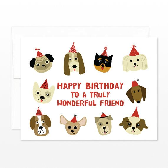 Happy Birthday Cards Dog Lovers