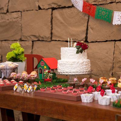 Festa aqui Festa acola - Festa na Floresta das Fadas: completa, é só providenciar as melhores receitas da família