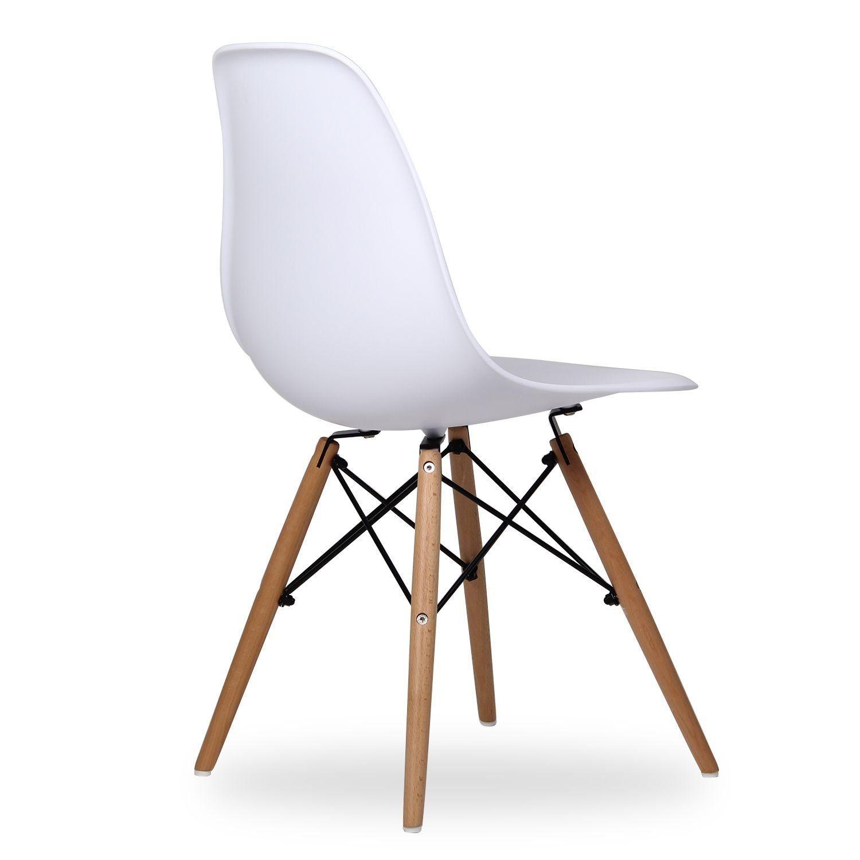 Chaises Design Dsw Blanc 4u Set De Chaises Tude Pinterest # Muebles Metinca