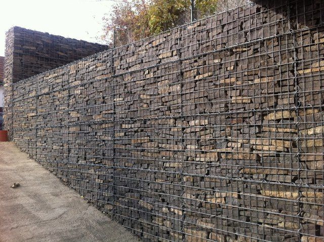 gabion wall Gabion Pinterest Gabion wall and Architecture