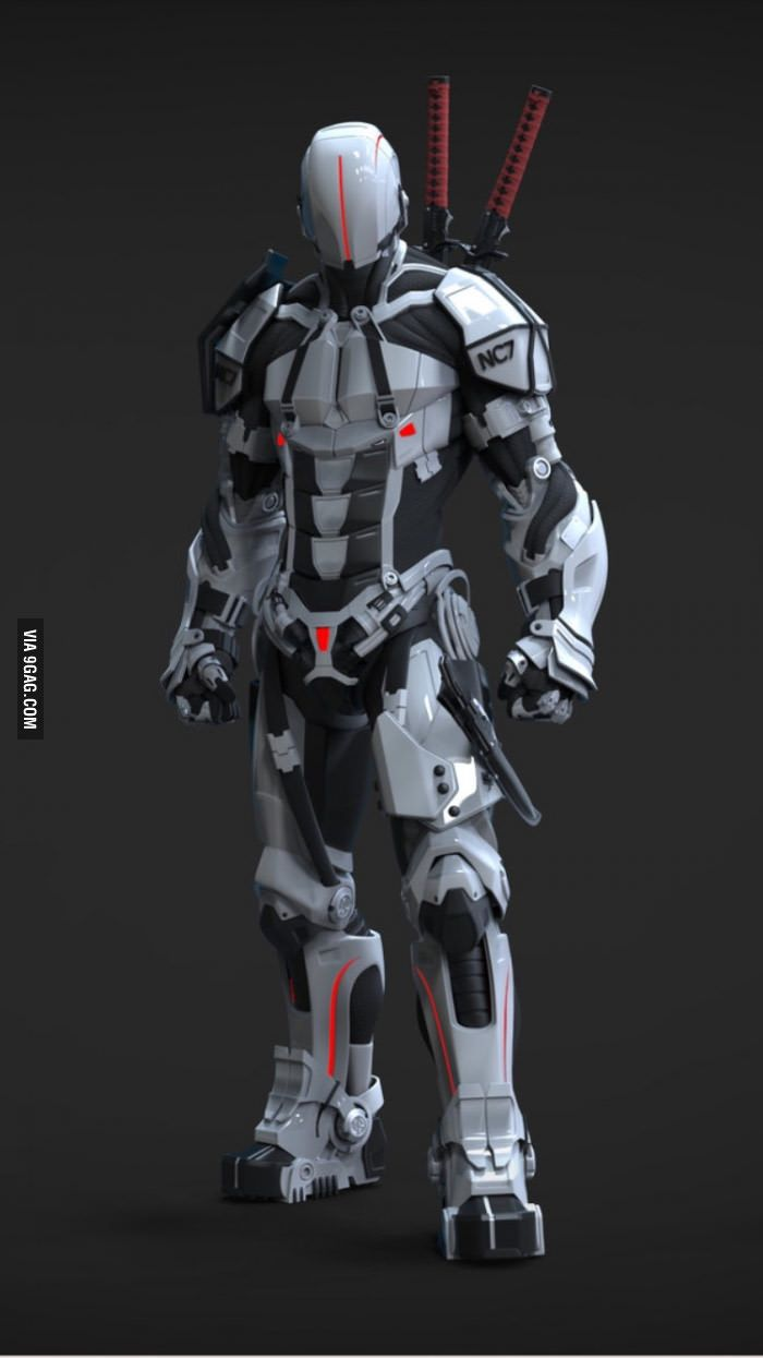 My real dream in life is to have a really cool armor and ...