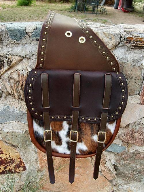Leather Western Saddlebags Custom made | saddles and etc ...