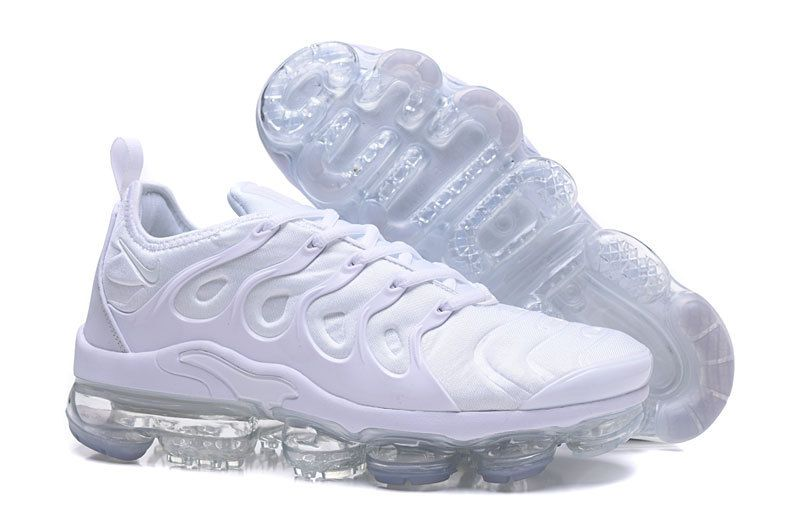 "371d7f976f5 Nike Air VaporMax Plus ""Triple White"" White Pure Platinum in 2019 ..."