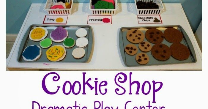 Cookie Shop Bakery Dramatic Play Center For Preschoolers Preschool