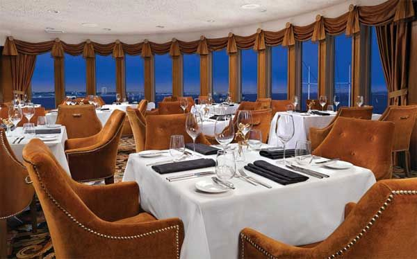 Sir Winston S A Contemporary American Restaurant Aboard The Queen Mary In Long Beach Calif Was Chosen As One Of Opentable Top 50 Most