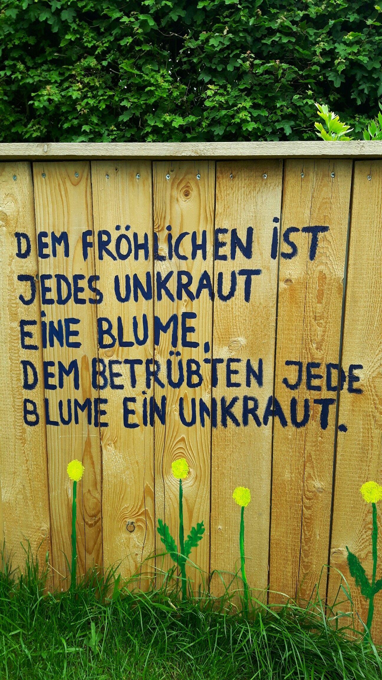 Finnisches Sprichwort Blume Garten Unkraut Leben Frohlich Betrubt Gartenspruche Spruche Garten Frohliche Zitate