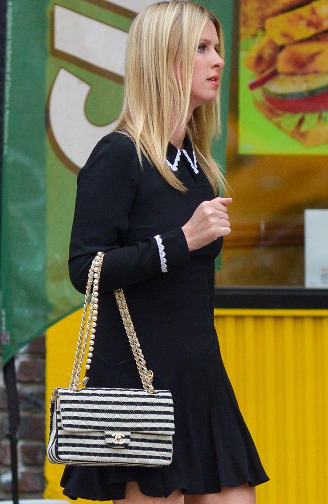 1ce86aa2de6dbf Nikki Hilton- Chanel Classic Flap Bag | Celeb Style