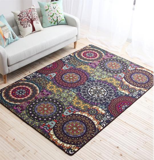 Nylon Carpet, Floor Carpet and Rugs, Ethnic Style Carpet for Living