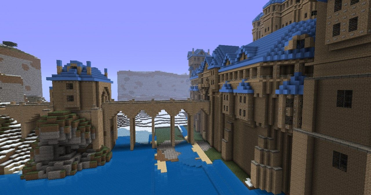 The Minecraft Castle Estel Project Was Contributed By Revolve