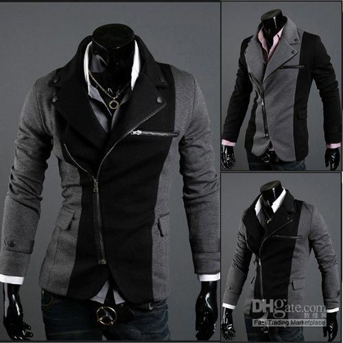 Multi Zipper Jacket Mens Fashion Clothing Mens Dress Jackets ...