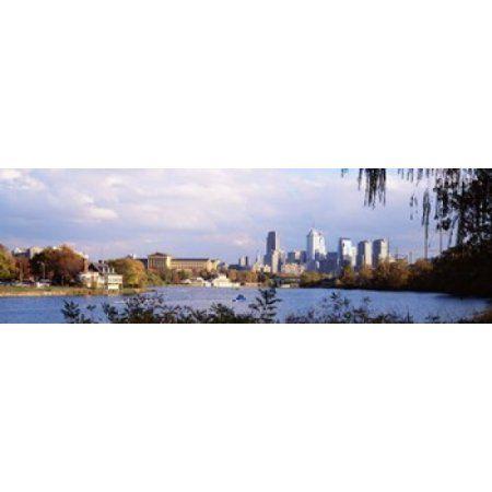 philadelphia pa canvas art - panoramic images (36 x 12) | panoramic ...