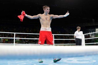 Irish Boxer Offered Young Fan S Medal After Controversial Defeat