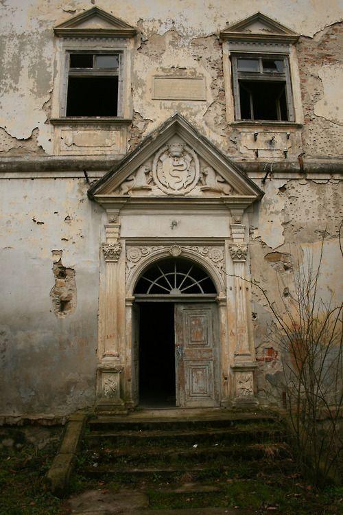 Once a regal entrance