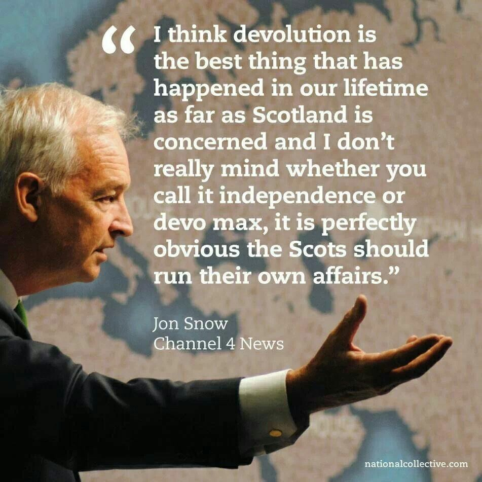 Jon Snow knows what's right! Scottish Independence