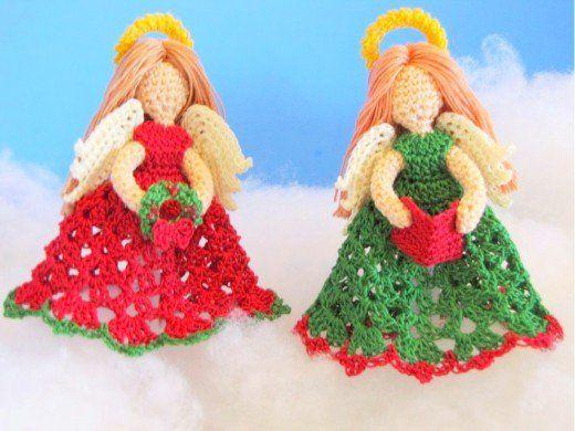 Amigurumi Christmas Patterns : Free amigurumi christmas angel patterns amigurumi patterns