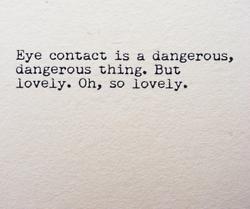 flirting vs cheating eye contacts without eyes lyrics