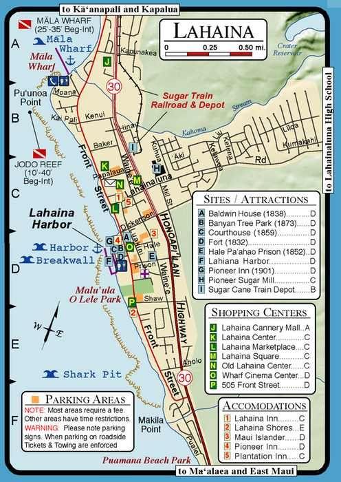 maui tourist map Google Search Hawaii Pinterest Tourist map