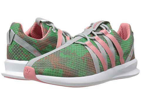 Adidas Originals SL Loop Racer W Pink & verde zapatos Pinterest