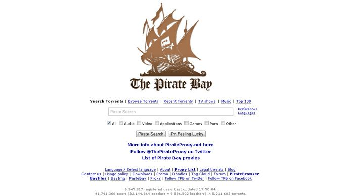 Pirate Bay launches easy anti-censorship browser | Stories to