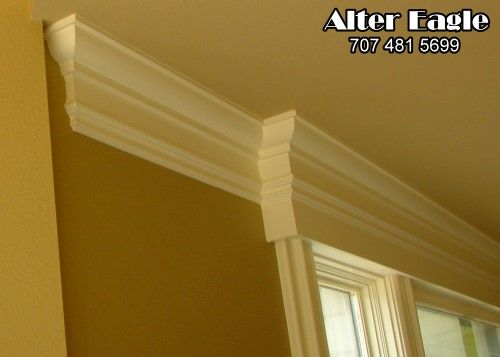 Crown Molding Next To Door Casing Coffered Ceiling Backlit And Curved Crown Moulding An Octagon Coffer Ceiling Trim Moldings And Trim Coffered Ceiling