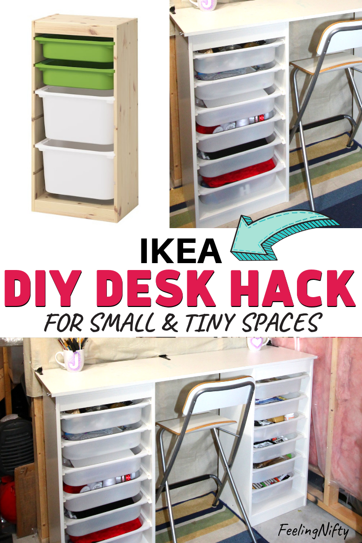 Most Recent Snap Shots Ikea Desk Hack Diy For Small Spaces And Tiny Spaces Strategies In 2020 Ikea Diy Desk Hacks Ikea Kids Desk