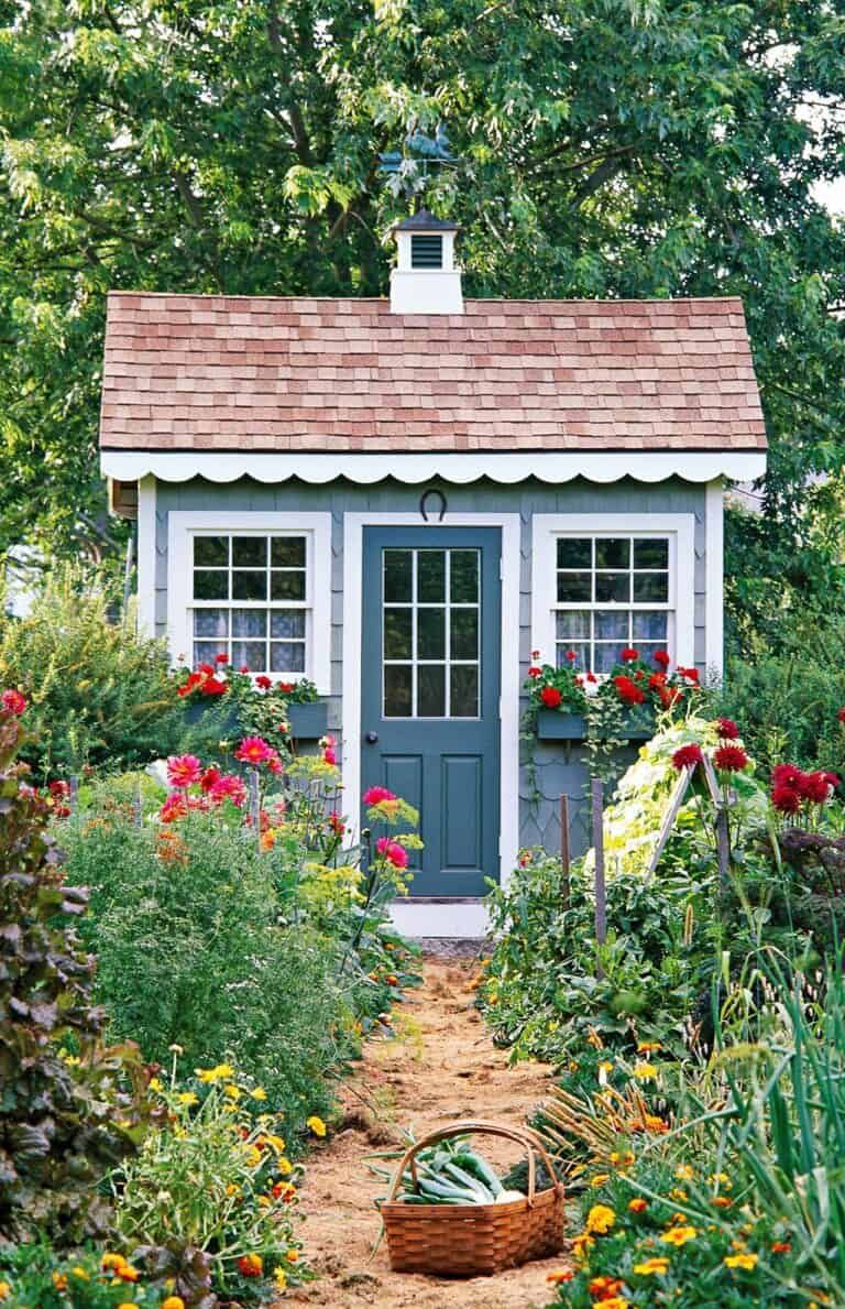 14++ Garden shed landscaping ideas info