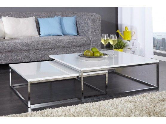 Epingle Par Garnier Sur Maison Table Basse Design Table Basse Blanche Laque Table Basse Blanche