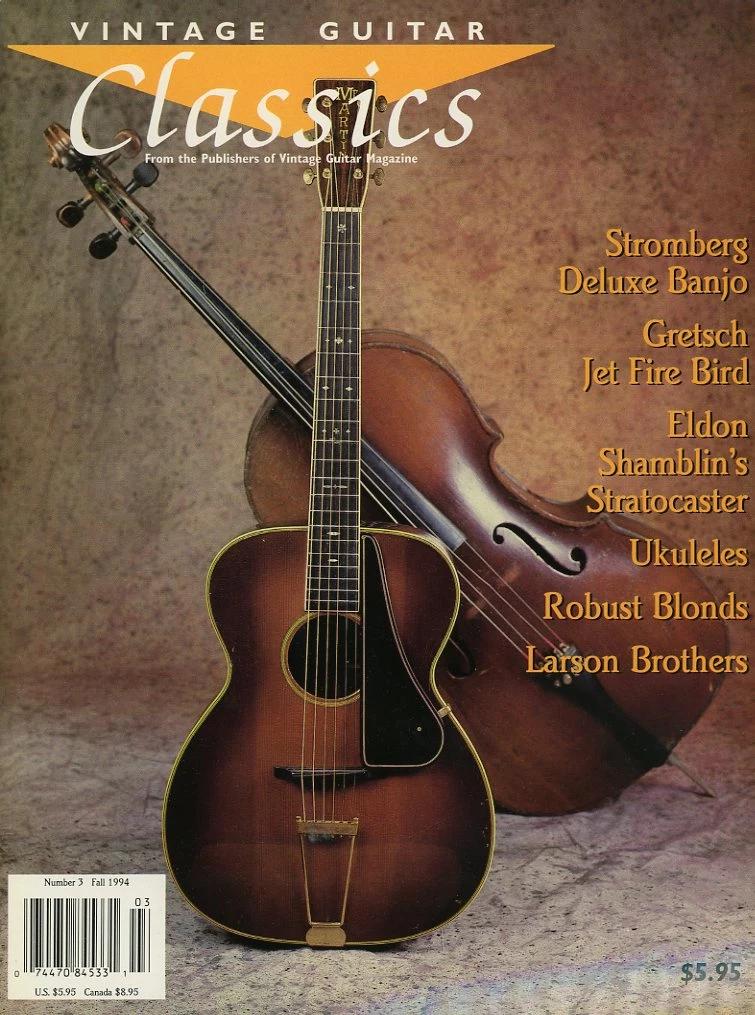 Vintage Guitar Classics 3 Fall 1994 Magazine Back Issue Vintageguitars Vintage Guitar Classics 3 Fall 1994 Magazine Back Issue Mjgenterprise