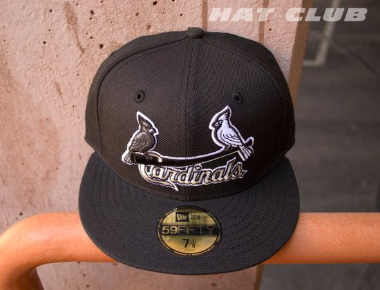 359d0f2204f New Fitteds   HAT CLUB  Custom NEW ERA x MLB「St Louis Cardinals」59Fifty Cap
